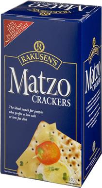 Matzo Crackers 150G
