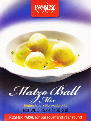 Matzo-Free Balls