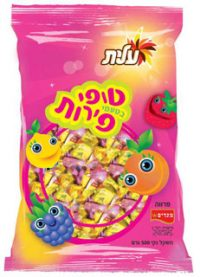 Megaddim Elite Fruit Toffees Large Bag 500G