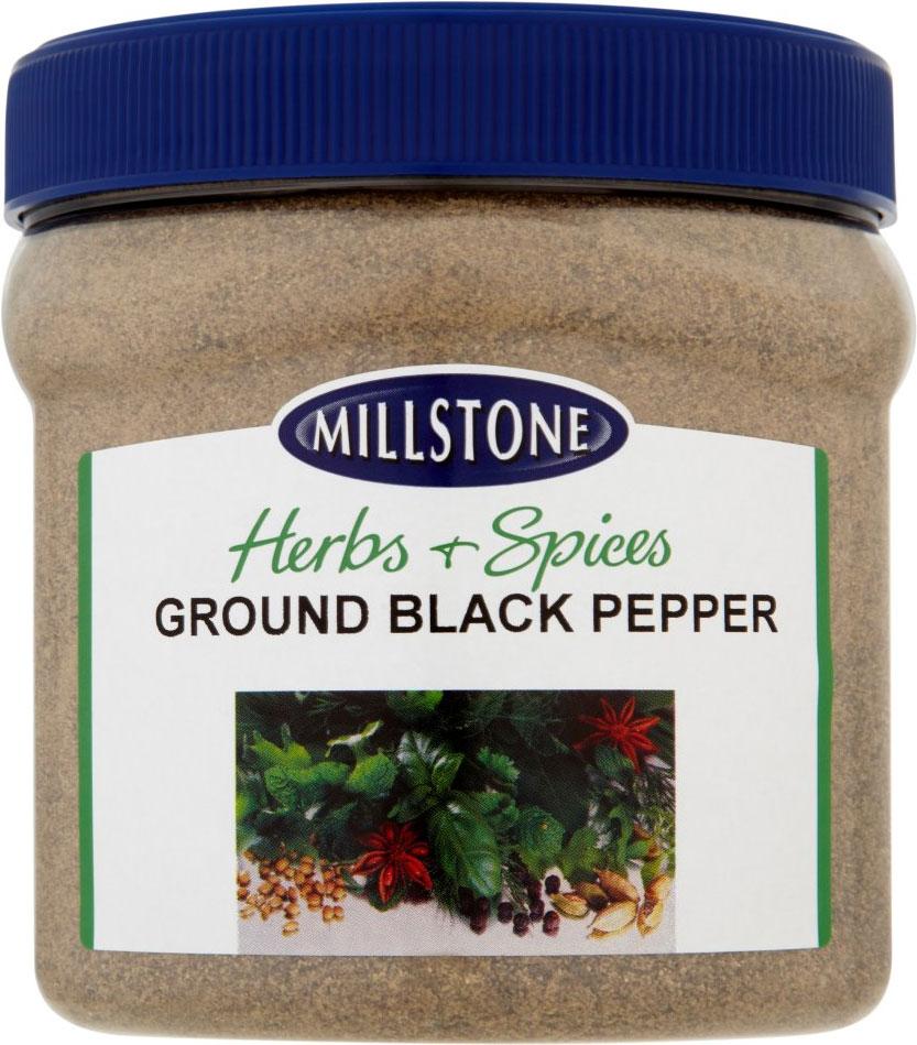 Mill Ground Black Pepper Plastic Drum 25G