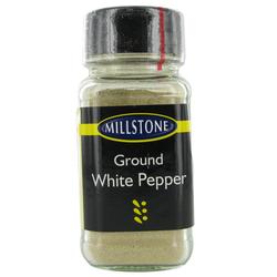 Millstone Ground White Pepper 45G