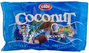 Mini Coconut Bars In Bags Passover 250G