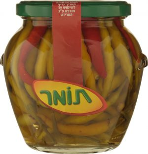 Mixed Peppers Pickled in Vinegar Tomer 540G