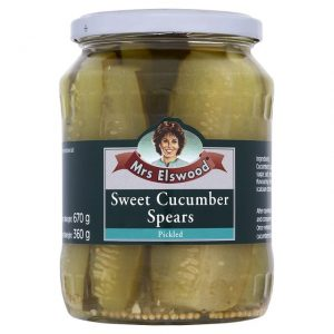 Mrs.ELSWOOD Sweet Cucumbers Spears - 6 PACK