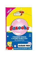 Must Bazooka Bubble Gum Banana Strawberry 28G
