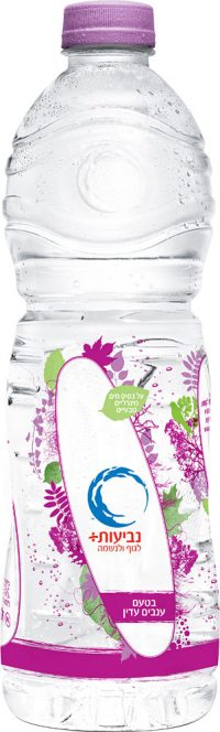 Neviot Grape Flavoured Mineral Water 1.5L