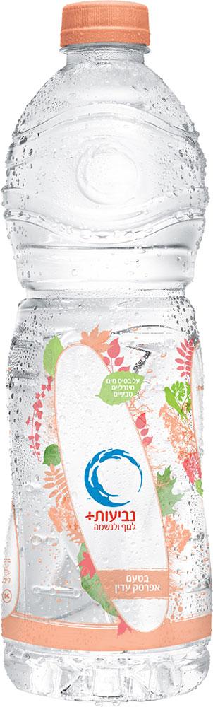 Neviot Peach Flavoured Mineral Water 1.5L