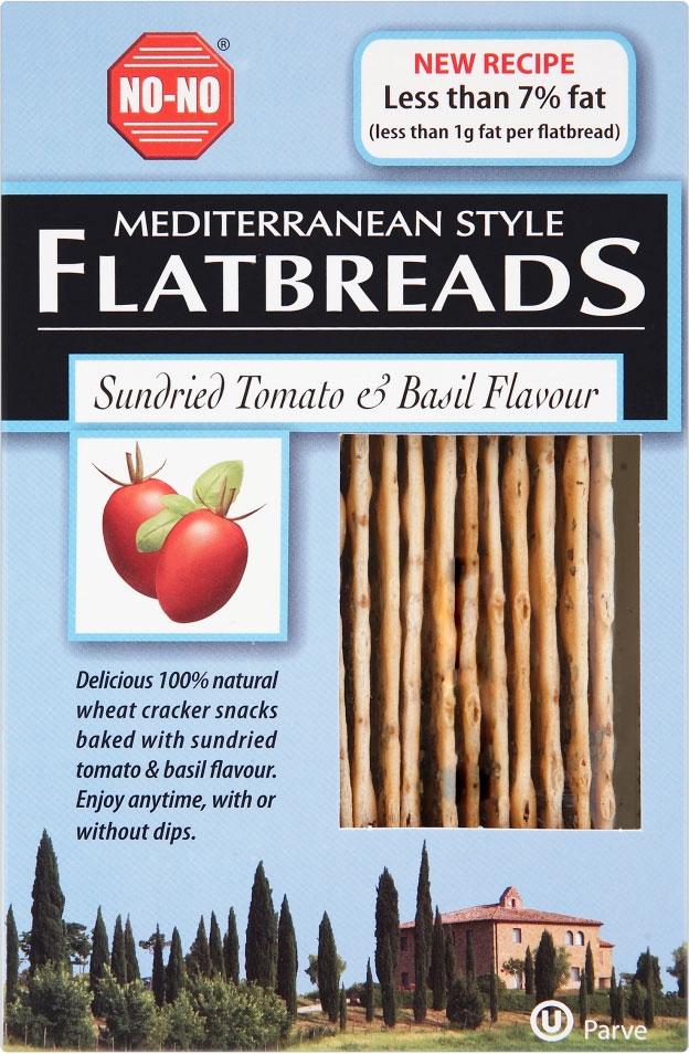 NO-NO Flatbreads Mediterranean 130G