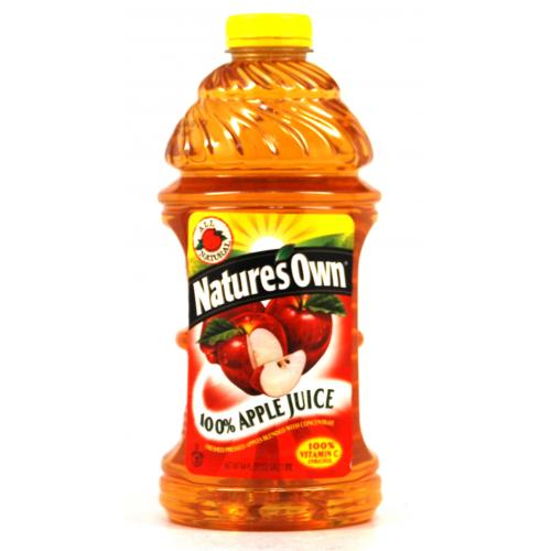 Natures Own Apple Juice 1.8l