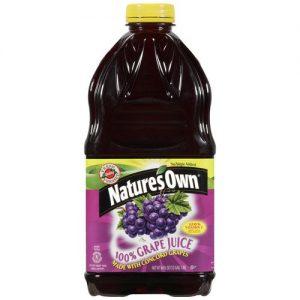 Natures Own Concord Grape Juice 1.89L