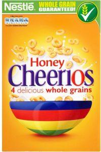 Nestle Honey Cheerios 375G
