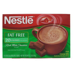 Nestle Hot Cocoa Mix Fat Free 8PC 64 G