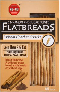 No No Flatbread Cinnamon (Brown) 130G