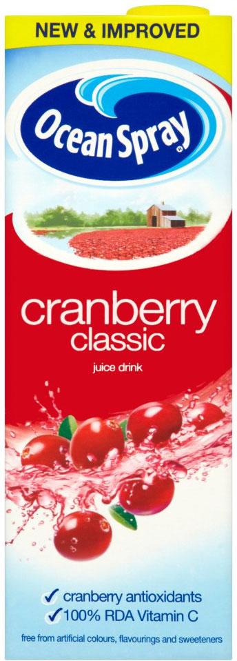 Ocean Spray Cranberry Classic 1L