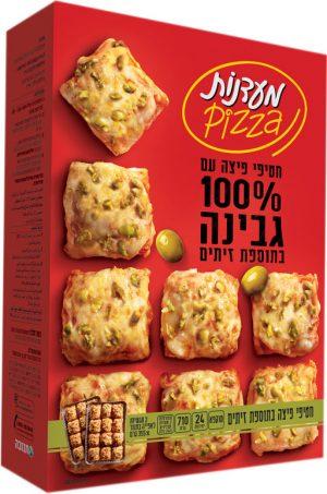 Olive Pizza Snacks in Baking Tray Maadanot 710G (24PC)
