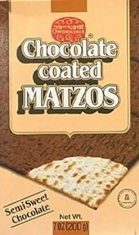 Oppenheimer Real Chocolate Covered Matzos  200G