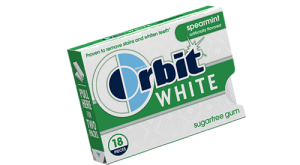 Orbit White Spearmint Handy Pack Box Gum 20pc