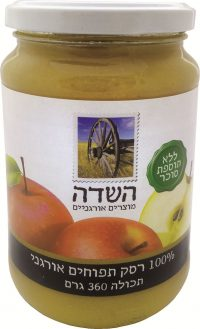 Organic Apple Sauce Ha-Sade 360G