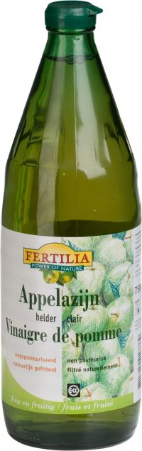 Organic Apple Vinegar Naturafood 750ml