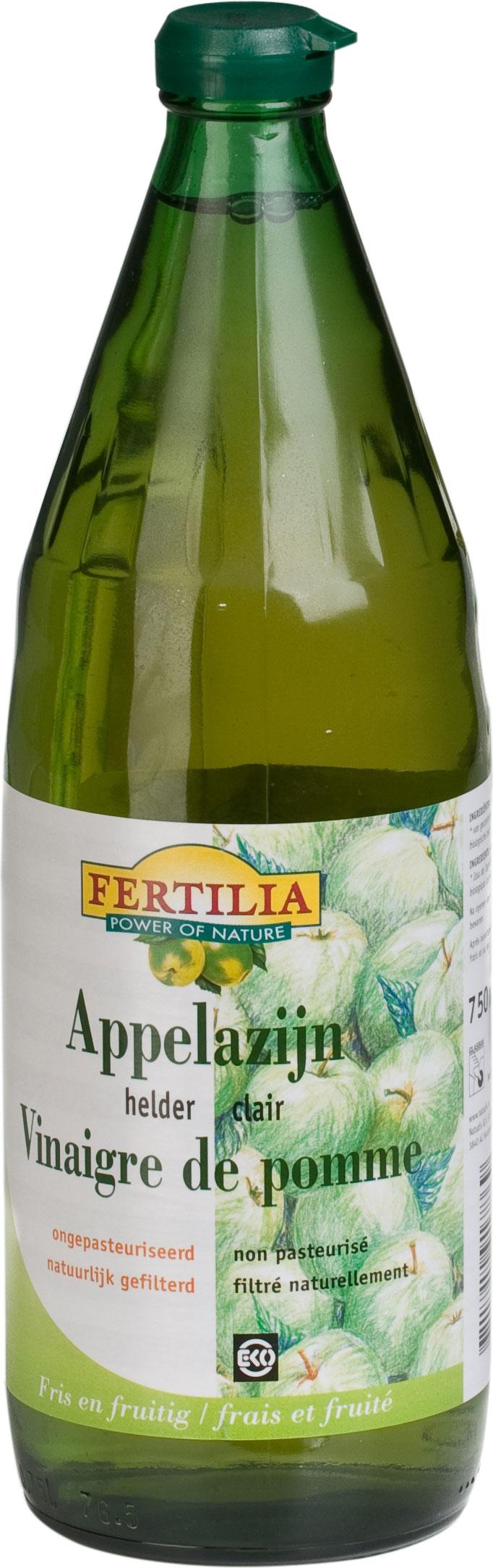 Organic Apple Vinegar Naturafood 750ml