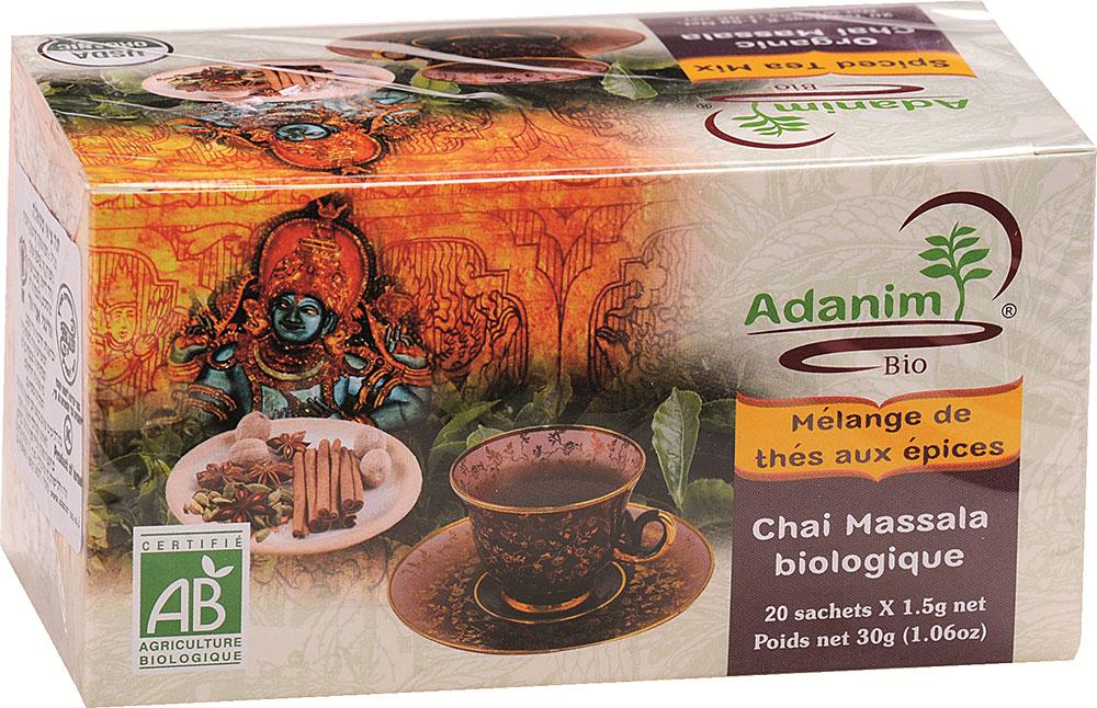 Organic Chai Masala Tea Adanim 20
