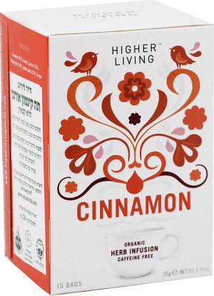 Organic Cinamon Tea Higher Living 26G
