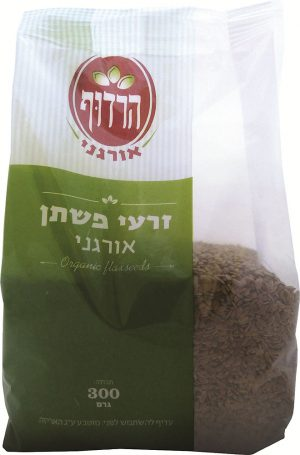 Organic Flaxseed Harduf 300G