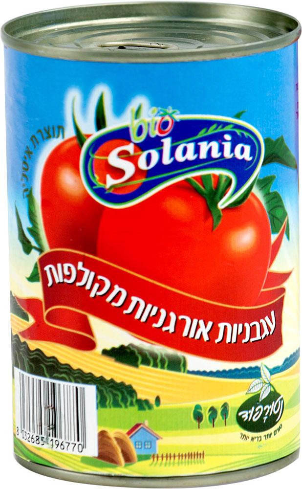 Organic Peeled Tomatoes Naturafood 400G