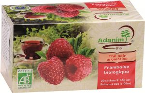 Organic Raspberry Green Tea Adanim 20