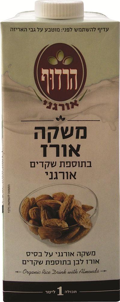 Organic Rice Drink with Almonds Harduf 1 liter