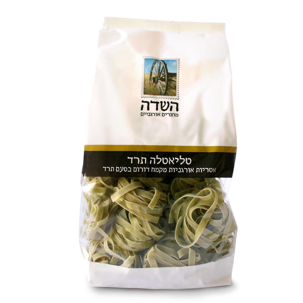 Organic Spinach Spelt Flour Pasta Ha-Sade 350G