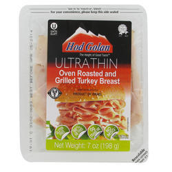 Oven Roasted & Grilled Turkey Breast 198G - Ultra Thin