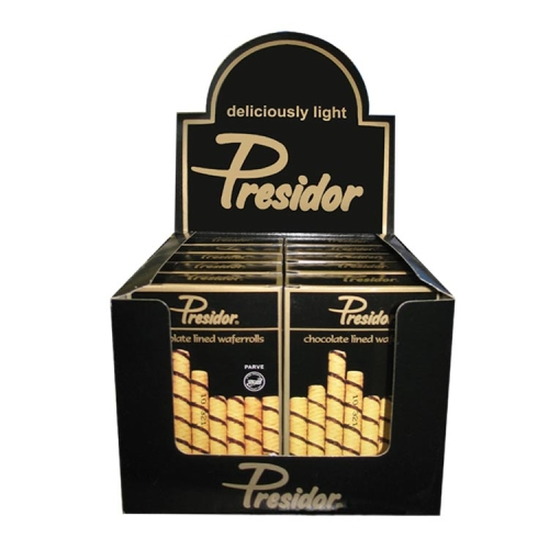 Presidor Bis Wafer Roll Box 150G