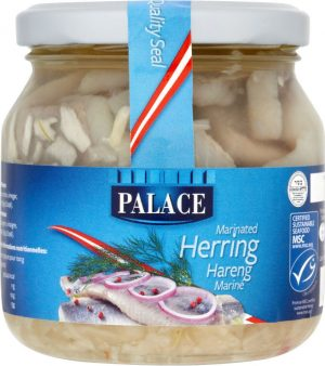 Palace Herring Marinated 275G *KDSA*
