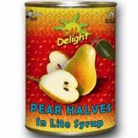 Pear Halves   California Delight 812G