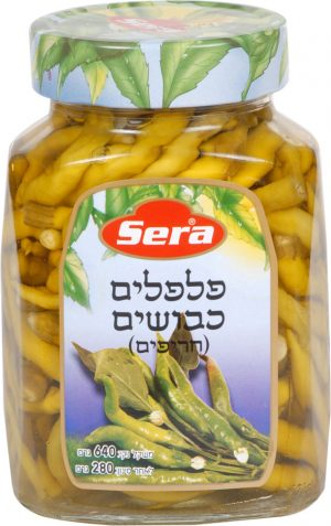 Pickled Spicy Peppers Serra 640G