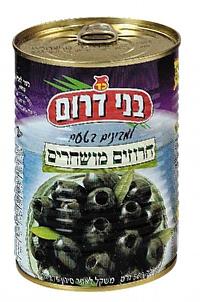 Pitted Black Olives Tins 560G