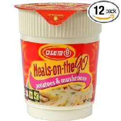 Meals on the Go- Potato & Mushroom