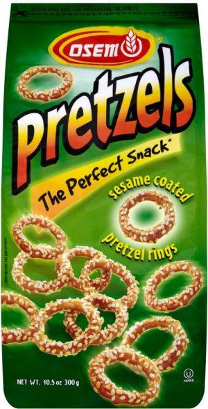 Pretzel Sesame Rings 300G