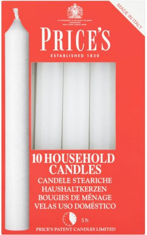 Prices Candles 10's