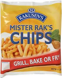 RAKUSEN CHIPS 907g