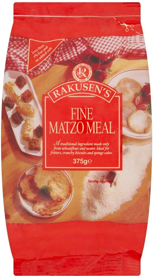 Rakusen Matzo Meal Fine (Red) 375G