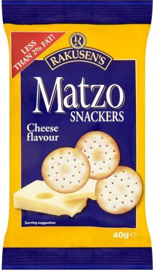 Rakusen Matzo Snackers (Blue Yellow Bag) 40G