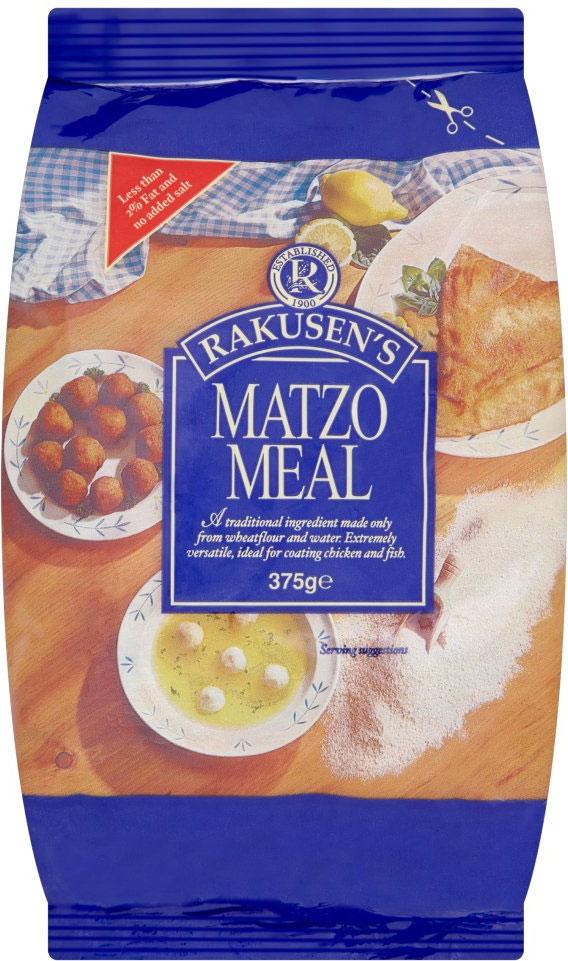 Rakusen Medium Matzo Meal (Blue) 375G