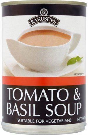 Rakusen Tomato Basil Soup 400G