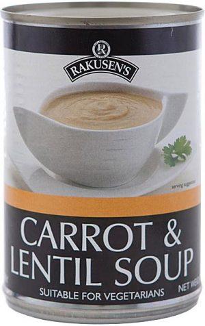 Rakusn Carrot Lentil Soup 400G