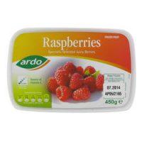 Raspberries Tub 450G