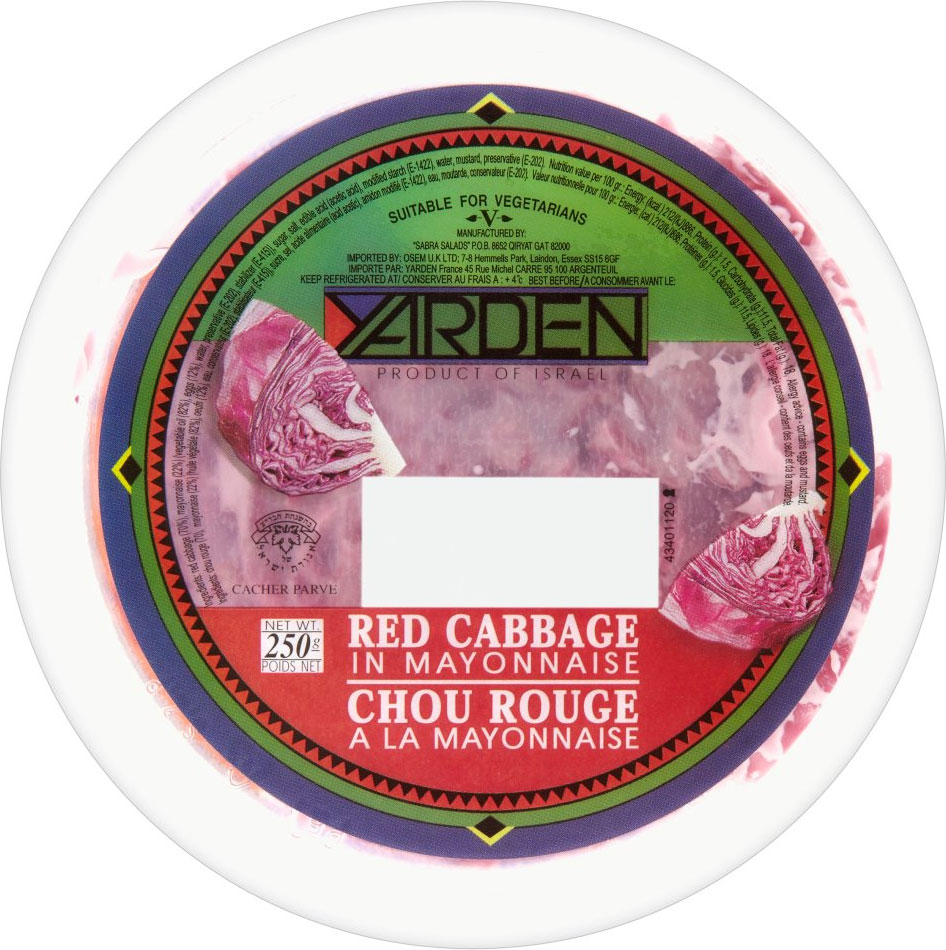 Red Cabbage In Mayo 250G