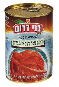 Red Sweet Pepper Strips Tins  540G