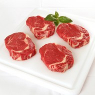 Rib Eye Steaks Approx 350G